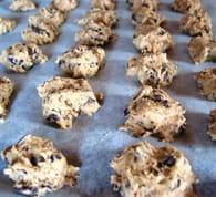 Cookies pour diabétiques : Etape 2