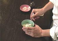 Tartare de saumon, sauce aux herbes fraîches : Etape 3