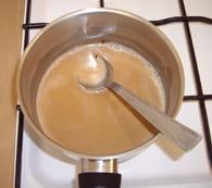 Petits pots de crème Carambar : Etape 2