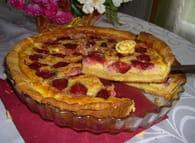 Tarte amandine aux fraises : Etape 6