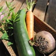 Chips de légumes : Etape 1