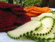 Chips de légumes : Etape 2