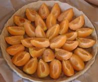 Tarte fondante aux abricots : Etape 3