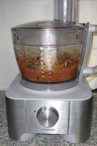 Verrines de tomates fraîches, basilic et coriandre : Etape 4