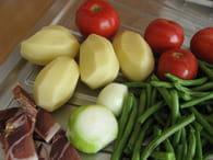 Soupe de haricots : Etape 1
