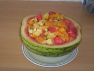Salade de fruits : Etape 5