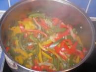 Peperonata (poivronnade) : Etape 4