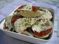 Légumes du soleil à la mozzarella : Etape 3