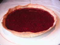 Tarte aux fruits rouges et au chocolat : Etape 2