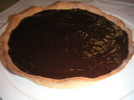 Tarte aux fruits rouges et au chocolat : Etape 3