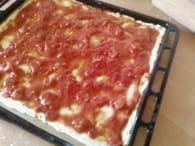 Pâte à pizza express : Etape 2