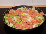 Feuilleté de saumon aux poireaux : Etape 2