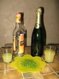 Soupe de champagne : Etape 2