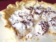 Banoffee pie aux copeaux de chocolat : Etape 4