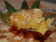 Crumble à l'ananas et clémentines : Etape 6