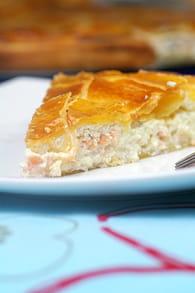 Galette des rois ricotta-saumon : Etape 4