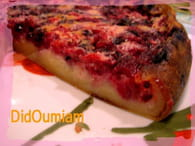 Clafoutis aux fruits rouges : Etape 2
