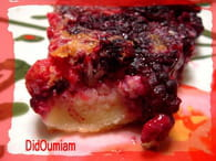 Clafoutis aux fruits rouges : Etape 3