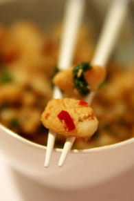 Salade thaï de lieu jaune : Etape 5