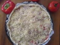 Tarte au thon et à la tomate : Etape 4