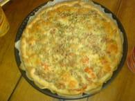 Tarte au thon et à la tomate : Etape 5
