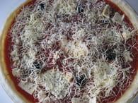 Tarte façon pizza : Etape 5