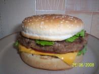 Hamburger maison : Etape 4