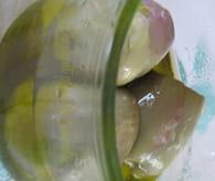 Artichauts à l'huile pour antipasti : Etape 5
