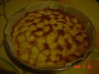 Gâteau aux pommes parfumé à la fleur d'oranger : Etape 3