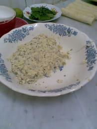 Boureks aux pommes de terre et au fromage : Etape 1