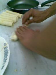 Boureks aux pommes de terre et au fromage : Etape 2
