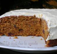 Carrot cake de Noël et son glaçage au cream cheese : Etape 5