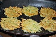 Blinis de pommes de terre au saumon fumé : Etape 2