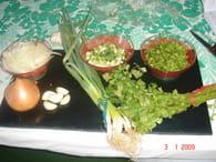 salade de cerf : Etape 2