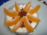 Mousse au chocolat clémentines : Etape 1