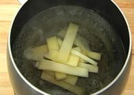 Fondue au fromage : Etape 2