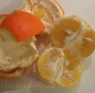 Marmelade d'oranges amères : Etape 1