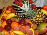 Salade de fruits exotiques : Etape 1