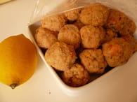 Boulettes de poisson citronnées : Etape 2