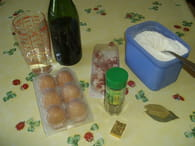Oeufs au vin : Etape 1