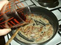 Oeufs au vin : Etape 2