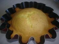Gâteau léger : Etape 5