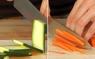Rouleaux croustillants de légumes : Etape 1