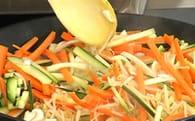 Rouleaux croustillants de légumes : Etape 2