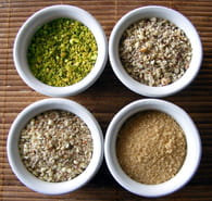 Pralin maison au petit goût de pistache : Etape 1