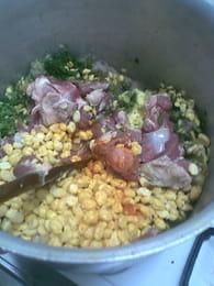 La hrira (soupe algérienne) : Etape 2