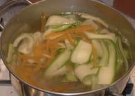 Papillote de saumon aux légumes : Etape 2