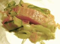 Papillote de saumon aux légumes : Etape 3