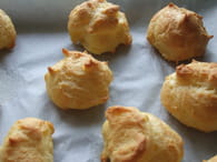 Petits choux à la mousse de foie gras : Etape 3