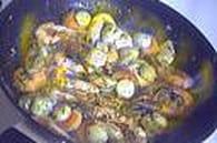 Feuilletés de Saint- Jacques-crème noix de coco : Etape 6